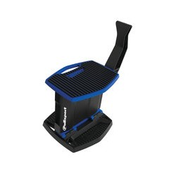 Caballete plegable movil de plástico Polisport Azul