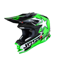 Casco Just1 J32 Moto X Verde