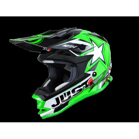 Casco Just1 J32 Moto X Verde