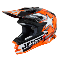 Casco Just1 J32 Moto X Naranja (Adulto y Junior)