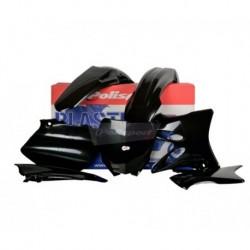 Kit plasticos Polisport Yamaha color negro 90393 - YZ 125/250 (06-14)