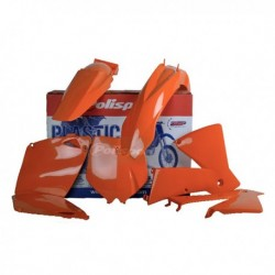Kit plasticos Polisport Ktm color original 90100 EXC (03) SX (01-02)