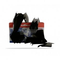 Kit plasticos Polisport Ktm color negro 90194 EXC / EXC-F (04) SX (03-04)