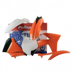 Kit plasticos Polisport Ktm color original 90510 SX (11) EXC/EXC-F (12-13) XC/XC-F (11)