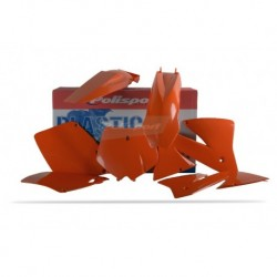Kit plasticos Polisport Ktm color original 90101 EXC/EXC-F (01-02)
