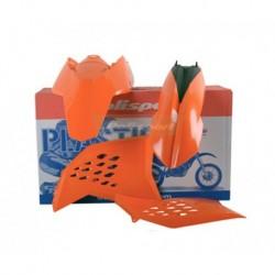 Kit plasticos Polisport Ktm color original 90182 EXC/EXC-F (08-11) ORIG. (10)