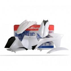 Kit plasticos Polisport Ktm color blanco 90508 SX (11) EXC/EXC-F (12-13) XC/XC-F (11)