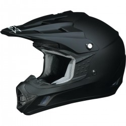 Casco FX 17 SOLID FLAT BLACK