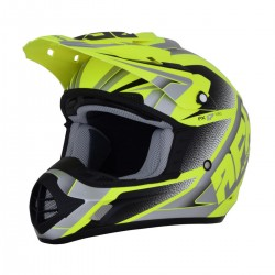Casco AFX - FX-17 FORCE Matte Neon Yellow/Silver