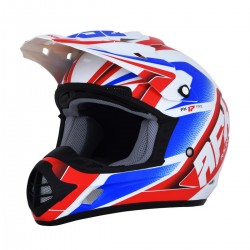 Casco AFX - FX-17 FORCE Red/White/Blue