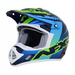 Casco AFX - FX-17 HOLESHOP Navy Blue/Green/Blue