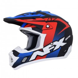 Casco AFX - FX-17 HOLESHOP Matte Black/Red/White/Blue