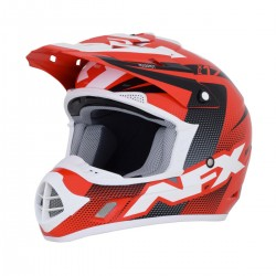 Casco AFX - FX-17 HOLESHOP Red/White/Blue