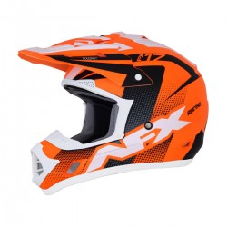 Casco AFX - FX-17 HOLESHOP Matte Neon Orange/Black/White