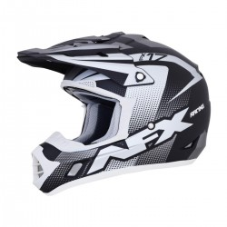 Casco AFX - FX-17 HOLESHOP Frost Grey/Black/White