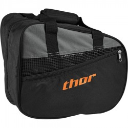 Bolsa THOR (para casco) RIVAL Black/Red Orange