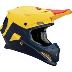 Casco JUNIOR THOR SECTOR Level Powder Navy/Yellow