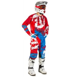 Equipación FLY KINETIC OUTLAW Red/Blue
