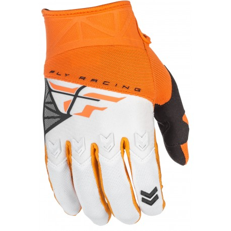 Guantes FLY F-16 Orange/White