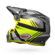 Casco BELL MX-9 MIPS EQUIPPED Marauder Gloss Amarillo Fluor/Negro