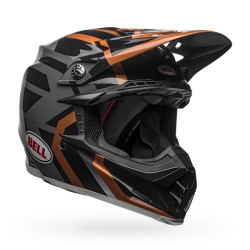 Casco BELL MX-9 MIPS EQUIPPED Distric Gloss Cobre/Negro