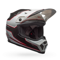 Casco BELL MX-9 MIPS EQUIPPED Stryker Negro/Blanco