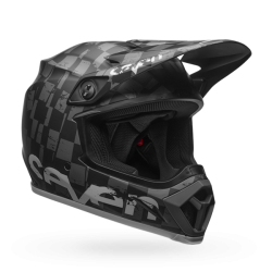 Casco BELL MX-9 MIPS EQUIPPED Seven Checkmate Matte Negro