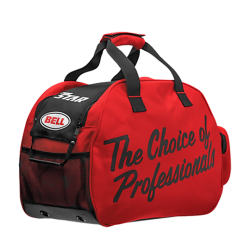 BOLSA PARA CASCO BELL ZIPPERED (Race Star/Pro Star) ROJO