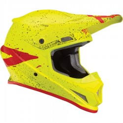 Casco THOR SECTOR Hype Flow Acid/Red