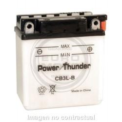 BATERÍA POWER THUNDER CB3L-B CON ÁCIDO