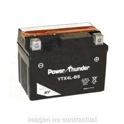 BATERÍA POWER THUNDER CTX4L-BS CON ÁCIDO