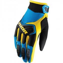Guantes JUNIOR THOR SPRECTRUM Blue/Black/Yellow