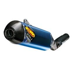 SILENCIOSO FMF FACTORY 4.1 RCT TITANIUM & CARBON BLUE ANONIZADO HONDA CRF250 R (11-13)
