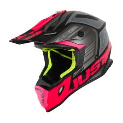 Casco Just1 J38 BLADE Fucsia
